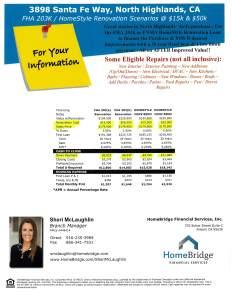 3898 Santa Fe financing flyer